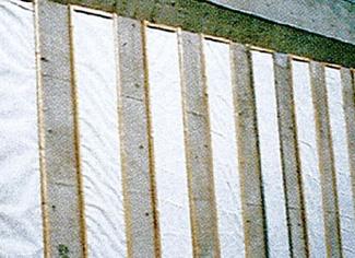 板状排水材 用途 擁壁・構造物・トンネル等裏込排水